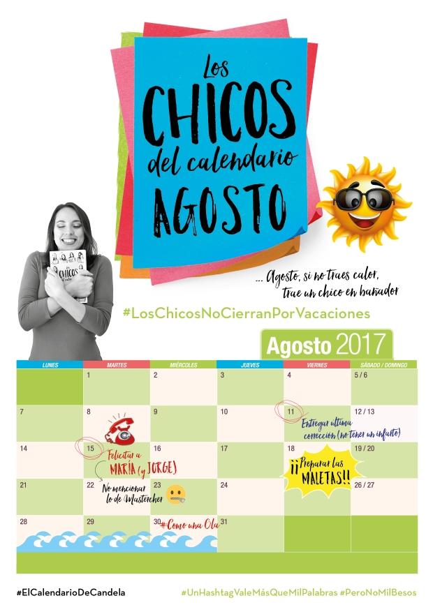 Calendario Agosto Candela