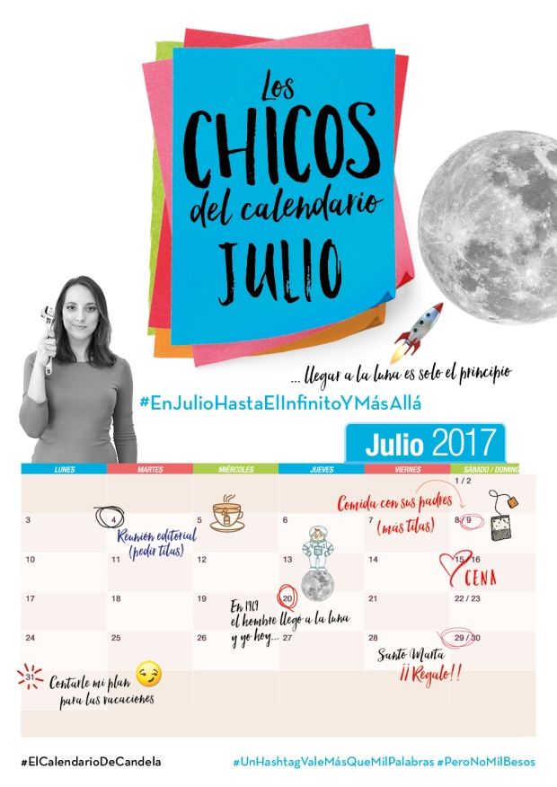 Calendario Julio Candela