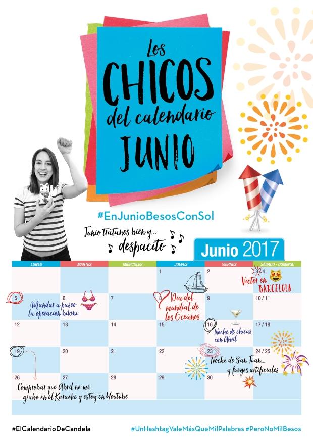 Calendario Junio Candela