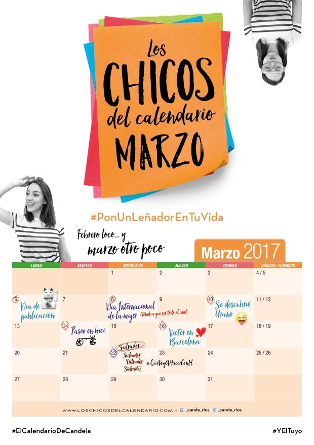 Calendario Marzo Candela